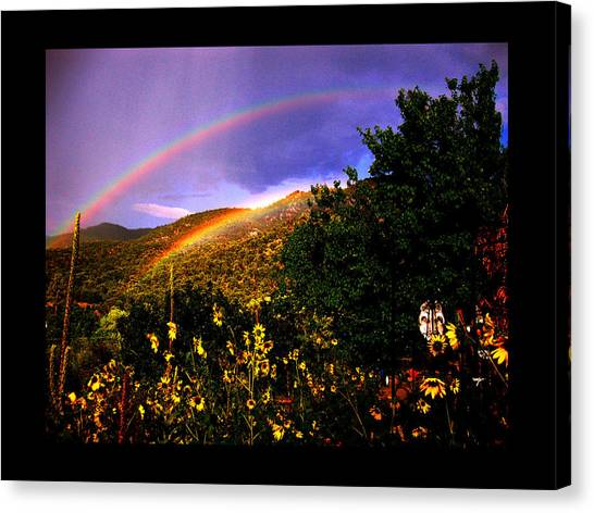 The Prayer Was Answered Canvas Print