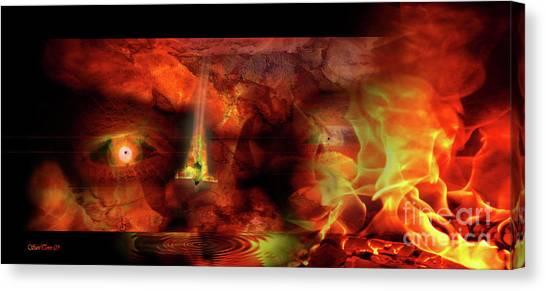 The Pyroman Canvas Print
