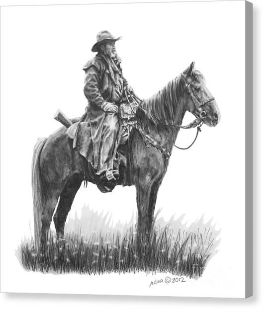 the Quest Canvas Print