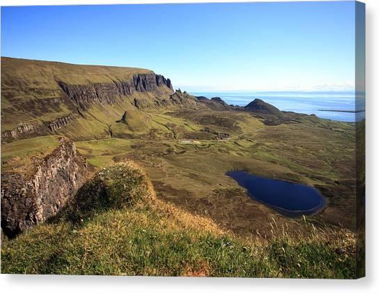The Quiraing Isle Of Skye Canvas Print