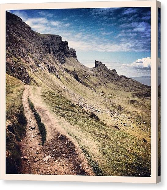 Geology Canvas Print - The Quiraing.... #isle_of_skye #skye by Robert Campbell
