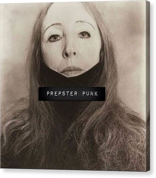 Punk Canvas Print - The Quotes: i Am An Excitable Person by Prepster Punk
