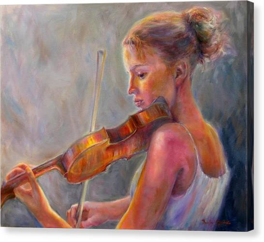 The Recital Canvas Print