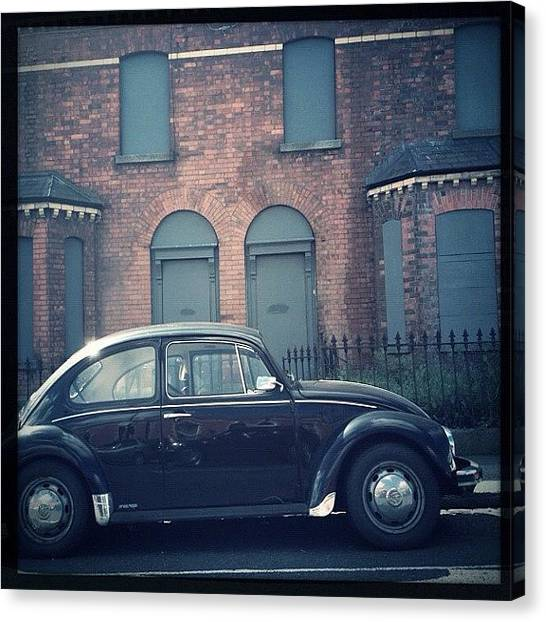 Beetles Canvas Print - The Repo Man's Car by Mick Hunt