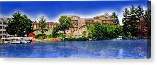 The Resort Canvas Print
