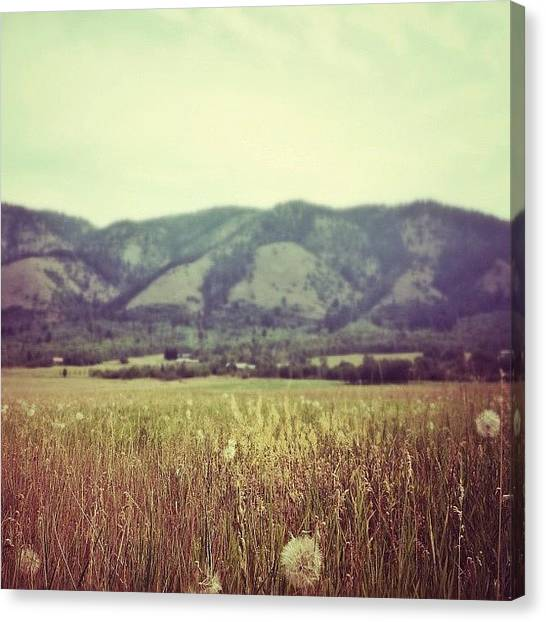 Wyoming Canvas Print - The Rocky Mountains by Vanessa Wagener