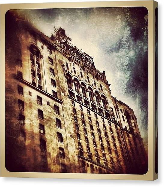 Hotels Canvas Print - The Royal York by Natasha Marco