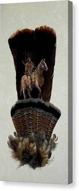 The Scout Canvas Print by Theresa Jefferson