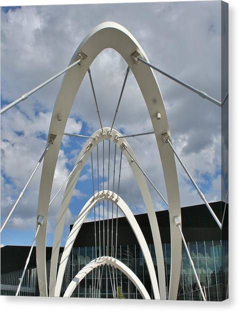 The Seafarers Bridge Structure Canvas Print