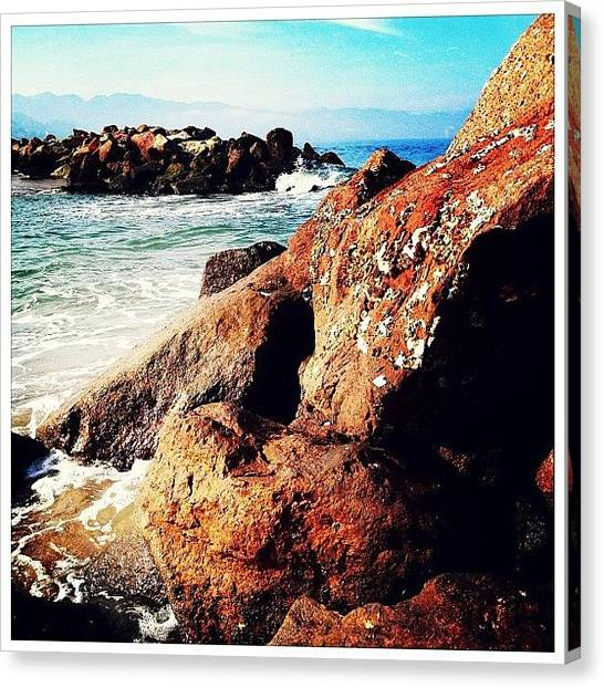 Mexican Canvas Print - The Seashore by Natasha Marco