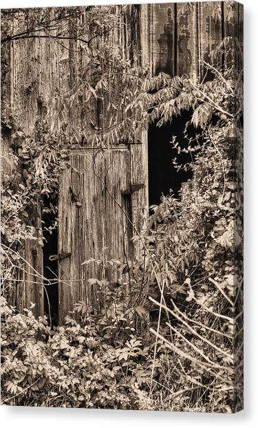 The Secret Door Canvas Print by JC Findley