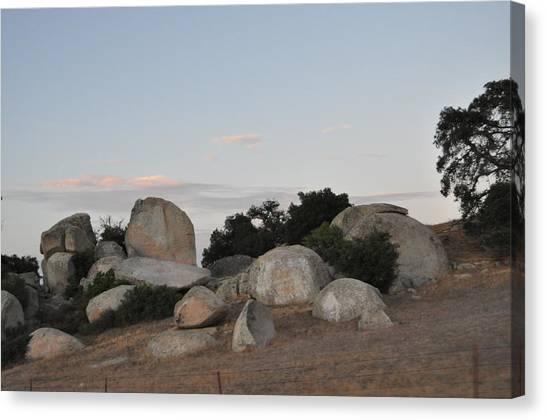 The Secret Of The Stones Canvas Print
