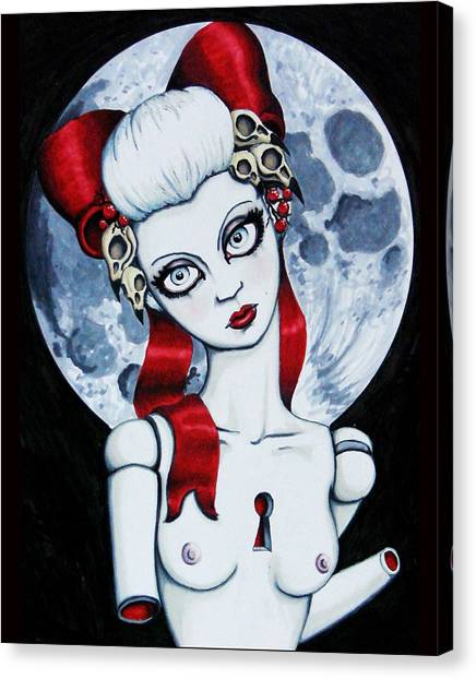 The Secret Canvas Print by Shayne of the  Dead