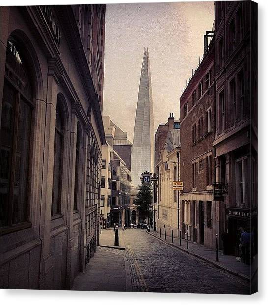 Skyscrapers Canvas Print - The Shard by Samuel Gunnell