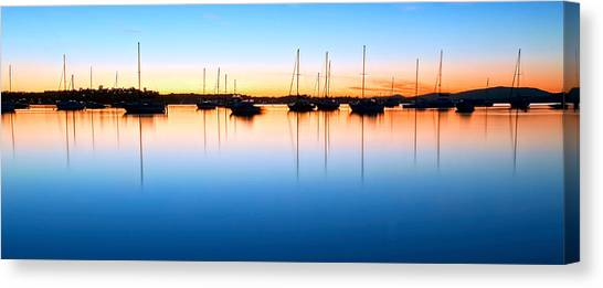 The Silent Fleet Canvas Print
