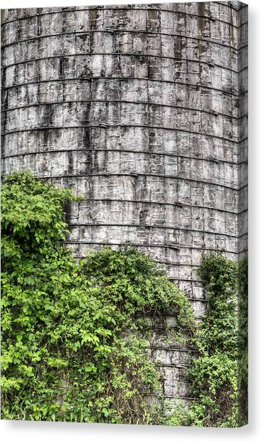 The Silo Canvas Print by JC Findley