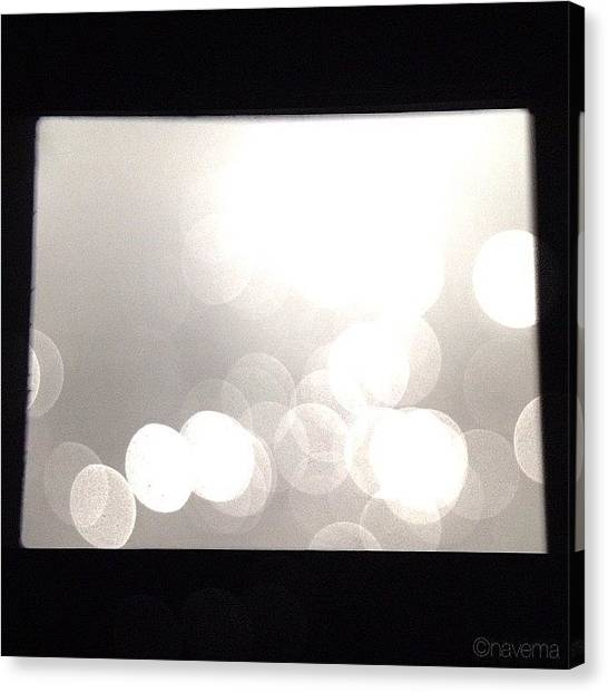 Minimalism Canvas Print - The Silver Screen by Natasha Marco