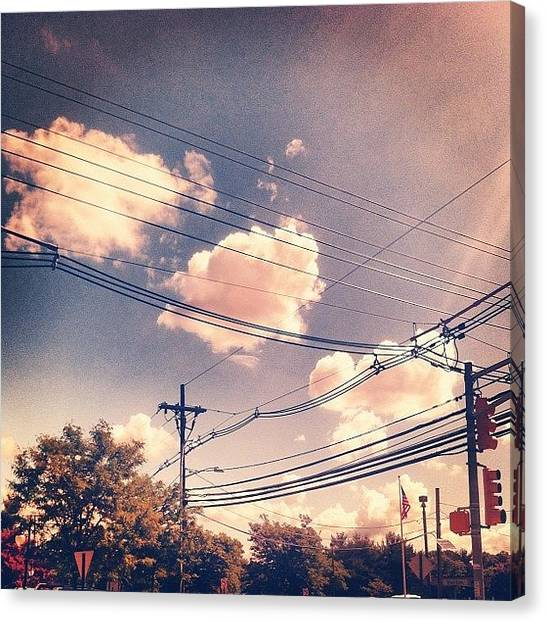 Venus Canvas Print - The #sky Is #perfect Today. #venus by T C
