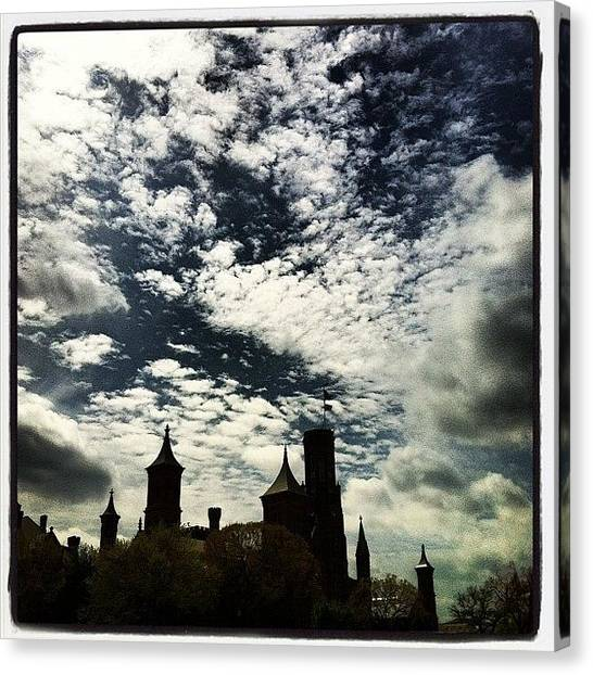 Smithsonian Museum Canvas Print - The Smithsonian Castle, Washington, Dc by Arnab Mukherjee