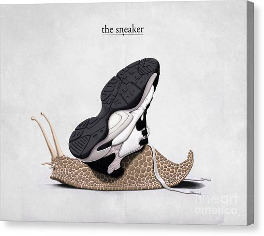 The Sneaker Canvas Print