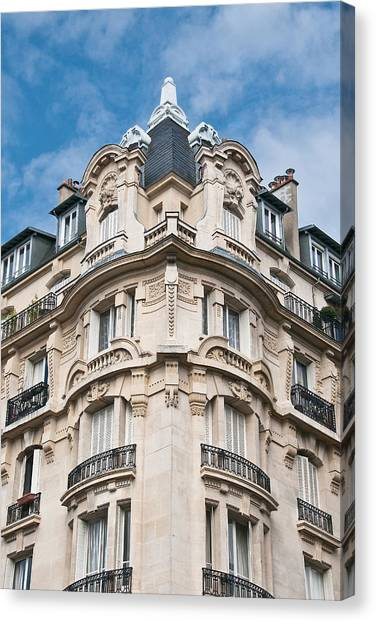 The Splendor Of Paris Canvas Print by Kent Sorensen