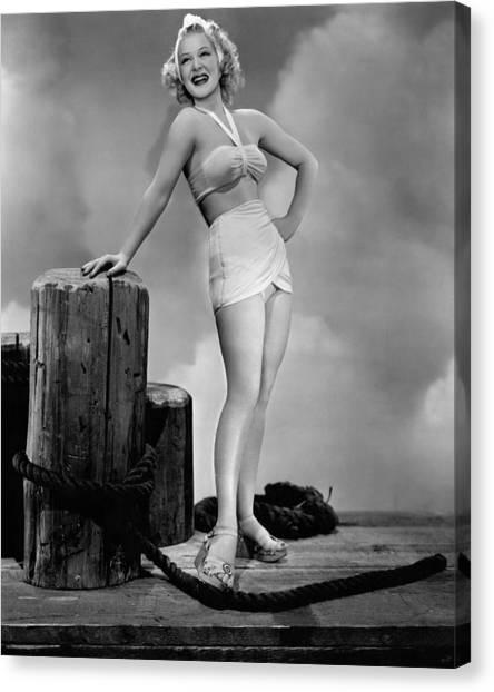 1945 Movies Canvas Print - The Stork Club, Betty Hutton, 1945 by Everett