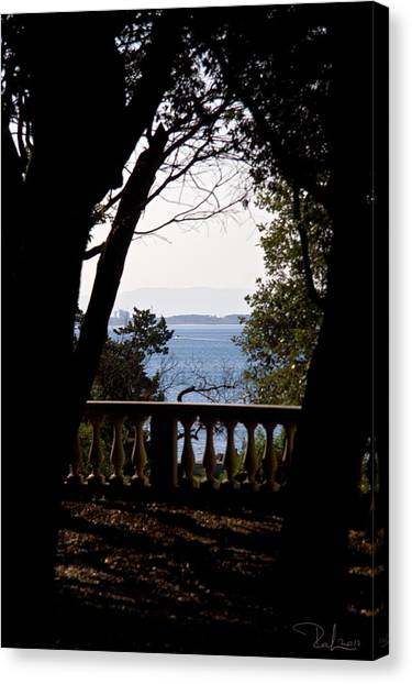 The Sun Out On The Sea Canvas Print