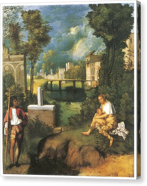 the tempest painting by giorgione