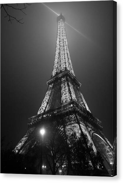 The Tower Ablaze Canvas Print by Humberto Laviera