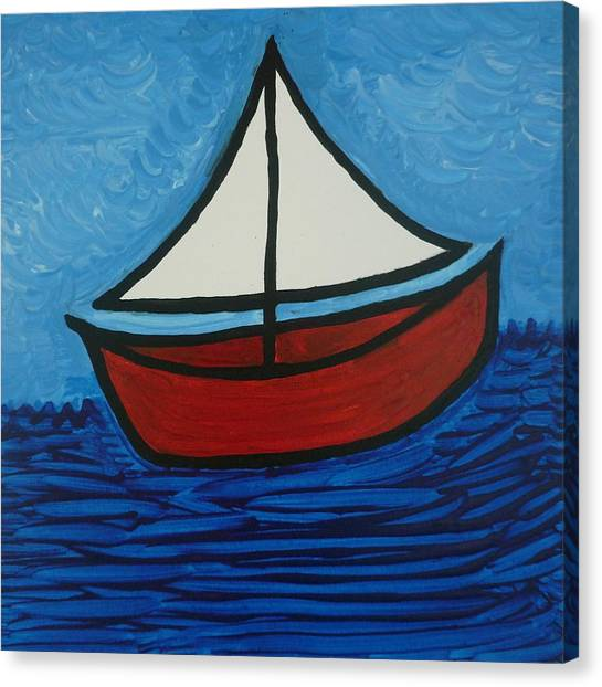 The Toy Boat Canvas Print by Gregory Young