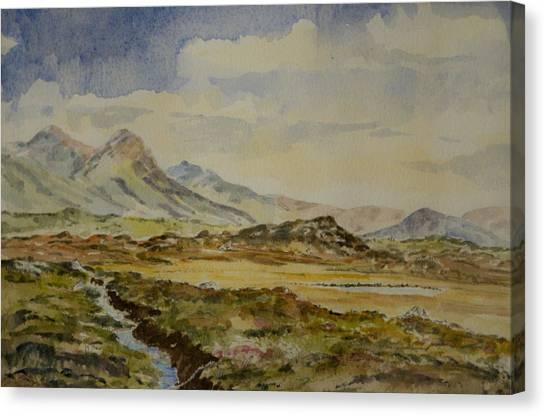 The Twelve Bens Canvas Print