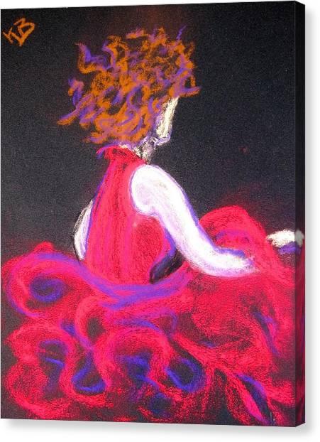 The Twirl Canvas Print