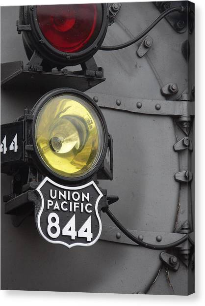The Up 844 Canvas Print