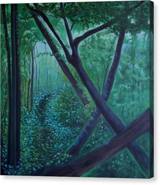 The Very Secret Garden Canvas Print