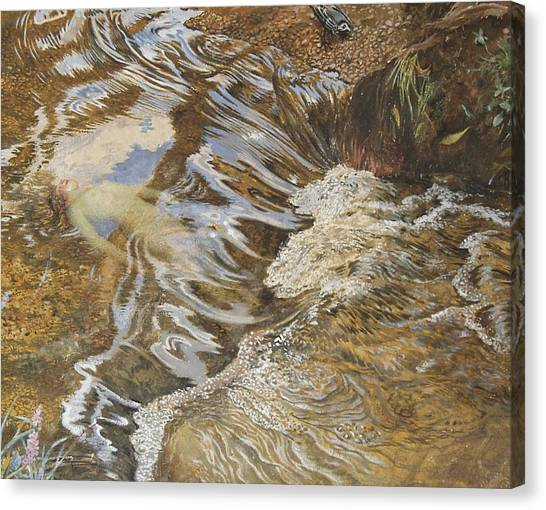 Sprite Canvas Print - The Water Sprite by JBL Shaw