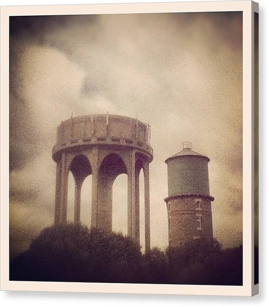 Victorian Canvas Print - The Water Tower by Tom Crask
