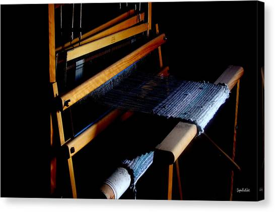 The Weavers Loom Canvas Print by Stephen Paul West