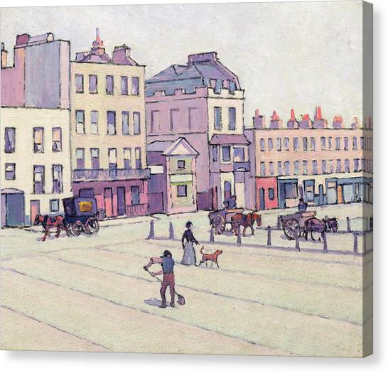 Xyc153929 Canvas Print - The Weigh House - Cumberland Market by Robert Polhill Bevan