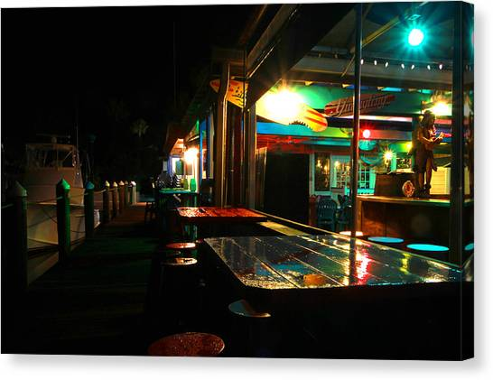 The Wet Bar Canvas Print by Jose Rodriguez