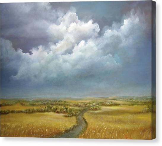 The Wheat Field Canvas Print