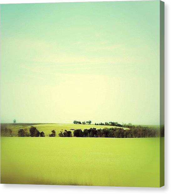 Manitoba Canvas Print - The Wide Open Sky by Jessica Mutimer