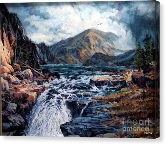 The Wilds Of Lake Superior Canvas Print by W  Scott Fenton