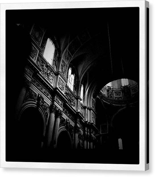 Baroque Art Canvas Print - Theatine Church - Munich by YOUNGDAY  theyoungday