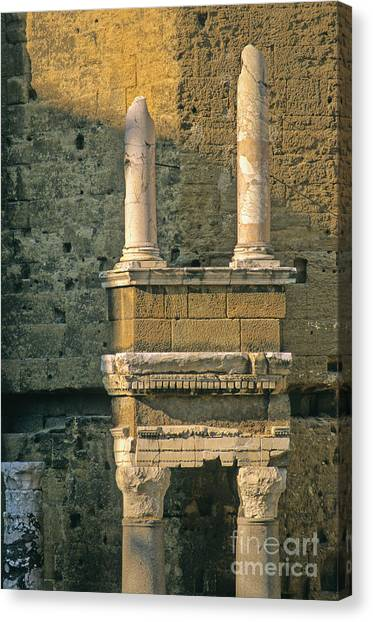 Romanesque Art Canvas Print - Theatre D'orange. Provence. by Bernard Jaubert