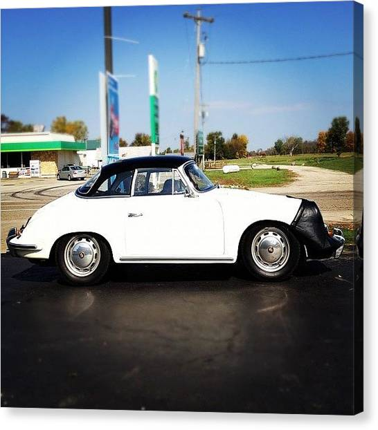 Porsche Canvas Print - There Were Five Of These Little by Dannielle Chatfield