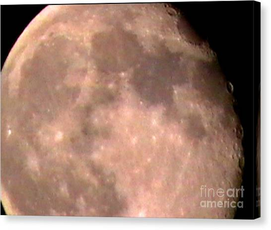 Theres A Moon Out Tonight Canvas Print by John From CNY