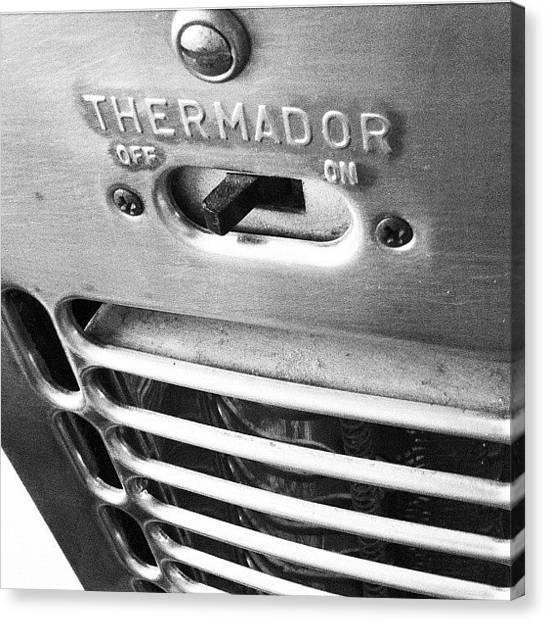 Grills Canvas Print - Thermador by Gwyn Newcombe