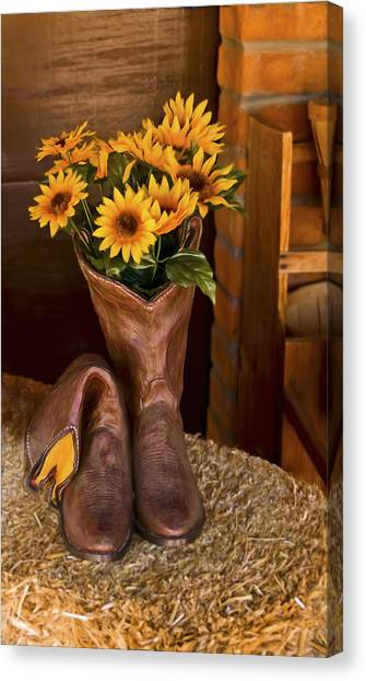 These Boots Were Made For Canvas Print