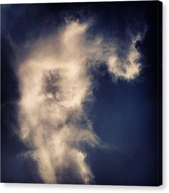 Sublime Canvas Print - This Cloud Disturbs Me On Several by Molly Wedgwood