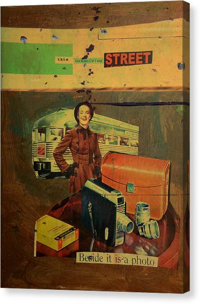 Canvas Print - This Dissolving Street by Adam Kissel